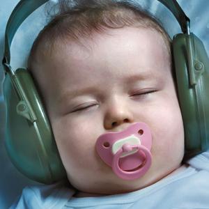 Flughafininitiative: Plakat 'Schlafendes Baby'